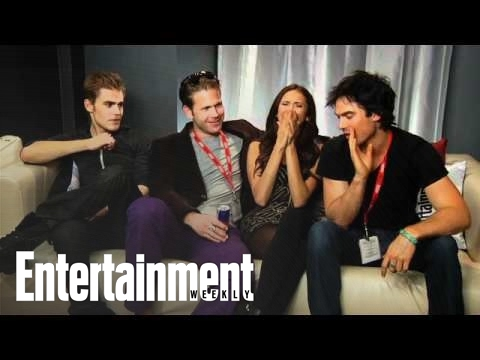 Vampire Diaries' Cast Interview with Michael Ausiello (Part 1) | Entertainment Weekly