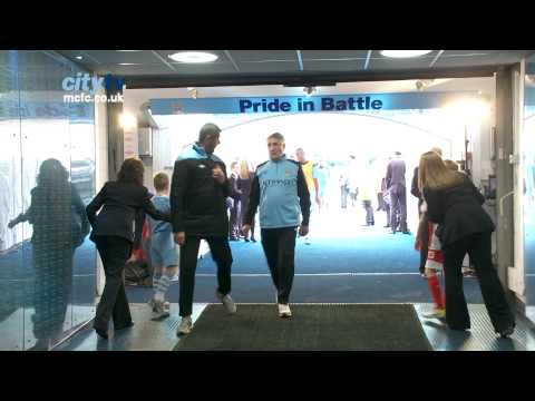 TUNNEL CAM: City 3-2 QPR Behind the scenes at the Etihad Sta