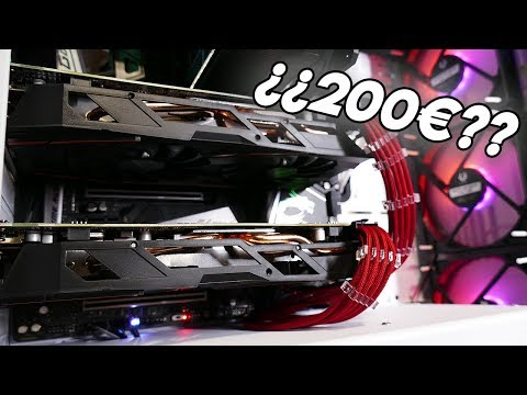 Montando un CROSSFIRE de AMD RX 570 por menos de 200€ | ¿Merece la pena?
