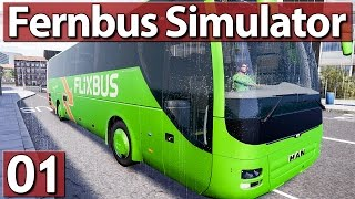 PREVIEW: FERNBUS SIMULATOR ► Sieht das GEIL aus! #01 BETA Gameplay deutsch