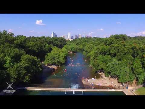 Barton Springs Pool - Barton Creek Greenbelt - Austin Texas