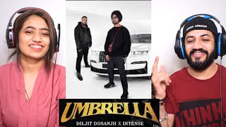 Umbrella   Diljit Dosanjh   Intense Reaction   New Punjabi Song