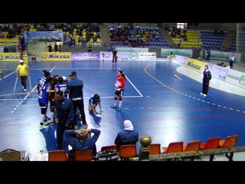 Ahly of Egypt v Carthage Tunisia in the semifinal of Women's African Club Championship
