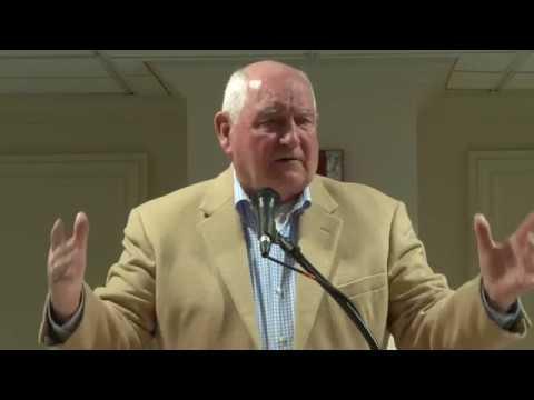 Secretary of Agriculture, Sonny Perdue, Addresses the Mid South Farm and Gin Show