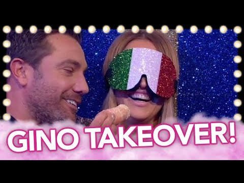 Gino D'Acampo Takeover With Kimberley Walsh! | Celeb Juice 2019