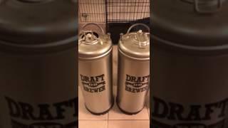 Draft Brewer Flex Homebrew Kegging System for Home Brew Beer