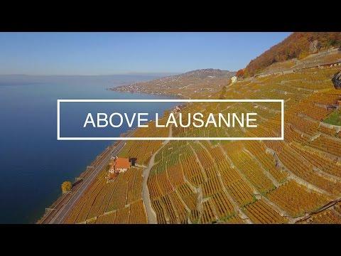 Above Lausanne 4K