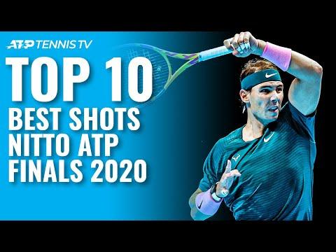 Top 10 Best Shots & Rallies   Nitto ATP Finals 2020