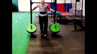 Yoke Training @fit Cardiff Gym