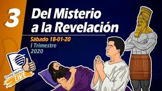 Lección 3 | Del Misterio a la Revelación - Escuela Sabática LIKE
