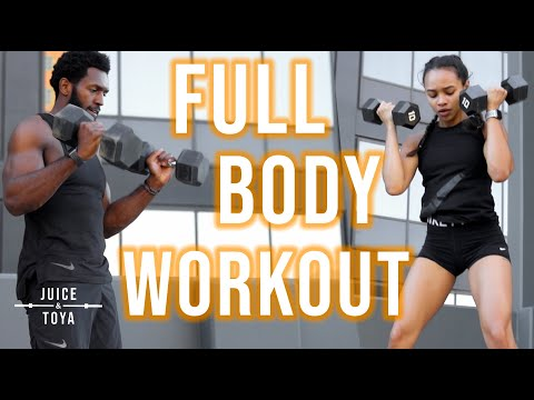 FULL BODY Dumbbell Only Workout | Total Body Strength/Endurance Dumbbell Complex