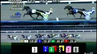 October 07, 2011, Race 01, OSS Gold Elim, 2CT, Woodbine Racetrack