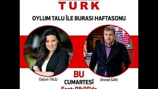 Ahmet San  Oylum Talu  ile Habertürk TV 'ye   konuk oldu