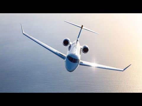 Avions Challenger - Cabine propre