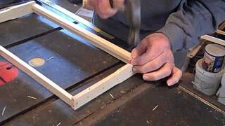Fatbeeman Frame Building And Installing Wax Foundation
