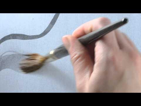 JAckson/'s Kolinsky Sable Brush Round Size 0