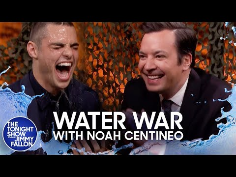 Water War with Noah Centineo
