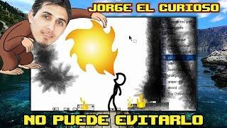 JORGE EL CURIOSO NO PUEDE EVITARLO - (ANIMATOR VS ANIMATION II) | DeiGamer
