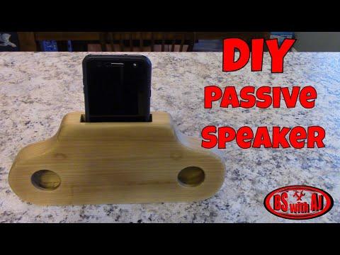DIY Cell Phone Speaker Amplifier