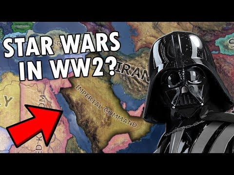 So They Added Star Wars To WW2 in HOI4 - YouTube