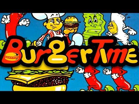 LGR - Burgertime - Arcade, INTV, PC Game Review