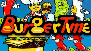 LGR - Burgertime - Arcade, INTV, PC Game Review