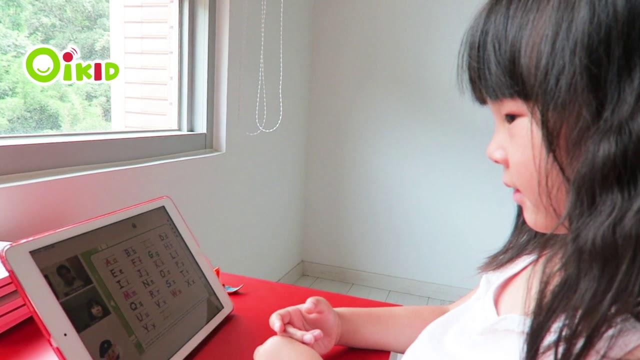 小娃從害羞到大方開口說英文【OiKID 學習日誌】 - YouTube
