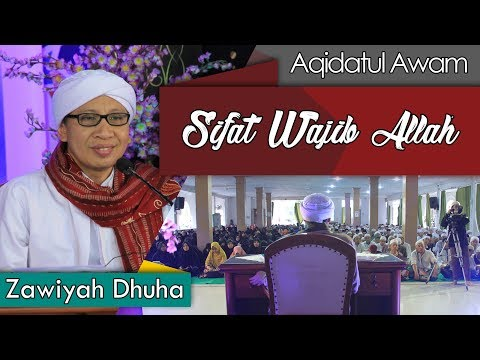 Sifat Wajib Allah   Buya Yahya   Zawiyah Duha   2 Ramadhan 1439 H / 18 Mei 2018