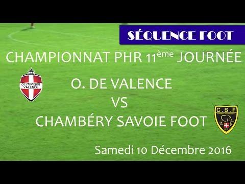 Séquence Foot - OV vs CHAMBERY - 11e journée PHR 10.12.2016