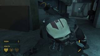 Half Life Alyx - Chapter 3 Is Or Will Be: First Contact with Overwatch Combine Soldier Combat (2020)