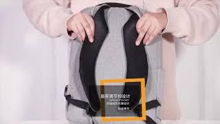 Tas punggung ransel backpack pria wanita Korean Lifestyle Casual Import polos Waterproof multifungsi USB - tas punggung laptop sekolah kuliah stylish