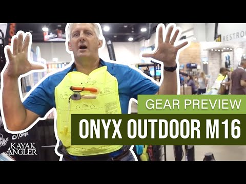 Onyx Outdoor M16 | Inflatable PFD | Fishing PFD | Gear Preview