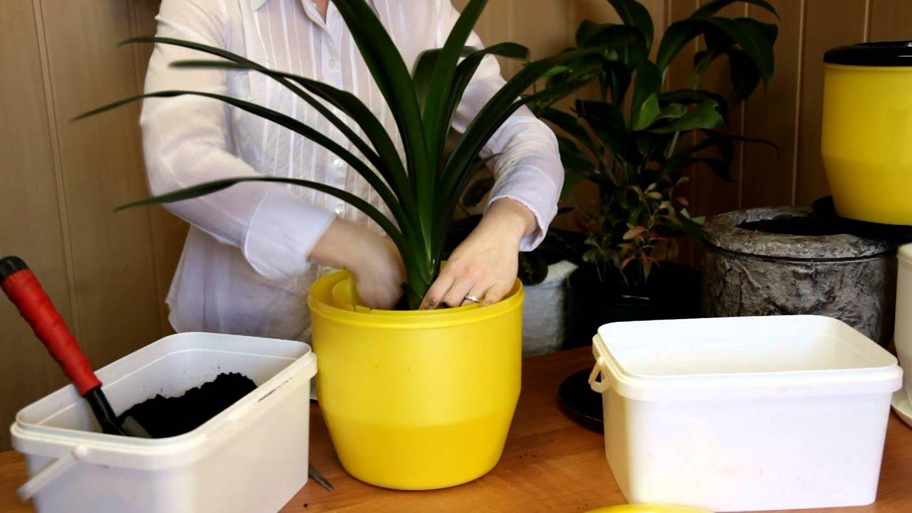 Горшок для цветов пластиковый Plastkon Flower Lover Quadrato – 27 .