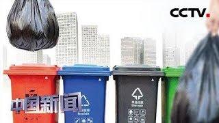 [中国新闻] 世界环境日:保护环境 从垃圾分类做起 中国生活垃圾年产量超四亿吨 | CCTV中文国际