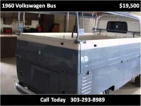 1960 Volkswagen Bus Used Cars Denver CO