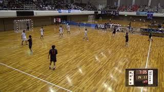 8日 ハンドボール男子 あづま総合体育館 Aコート 法政二×昭和学院 準々決勝 2