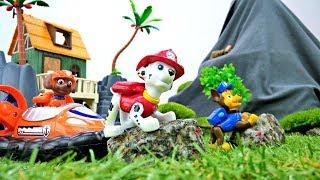 Щенячий патруль Новые серии: игрушки на острове
