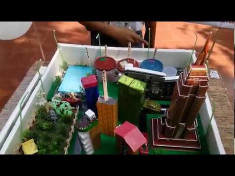std -5 School Project | rain water purification plant| science Fair | st. xavier's school.