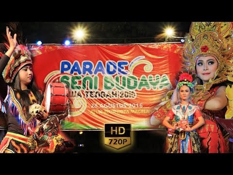 Parade Seni Budaya Jawa Tengah 2016 Full HD 720p