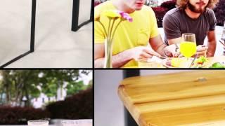 Miadomodo Wooden Picnic Table And Bench Set Bzg02 To Bzg06