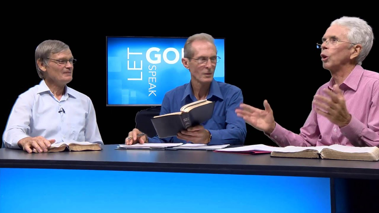 "Let God Speak: ""Who is Jesus?"" - Week 3, Second Quarter, 2015"