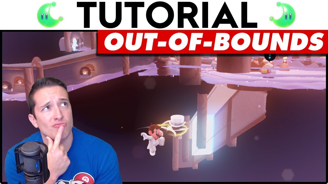 Roblox How To Get Out Of Bounds In Underverse Youtube Clipping Out Of Bounds Tutorial Super Mario Odyssey Youtube