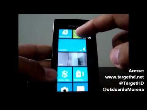 Samsung Omnia W, com Windows Phone 7.5 | Review | TargetHD,net