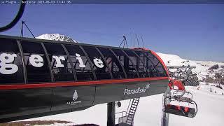 Preview of stream La Plagne - Live Webcam Bergerie - 2184 m