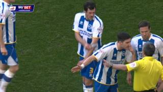 Brighton & Hove Albion vs Reading - Championship 2013/14