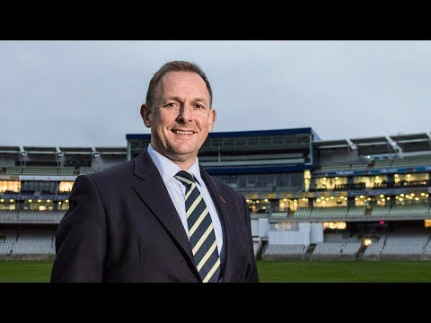 Chief Executive Neil Snowball on Ashley Giles