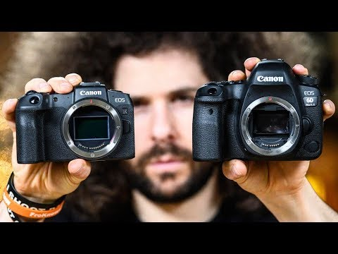 Canon EOS RP Vs Canon 6D Mark II | Which To Buy?