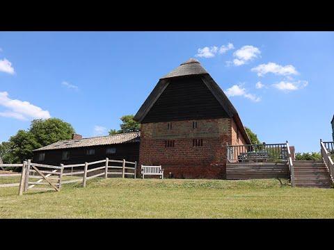The Thatch Barn as a blank canvas