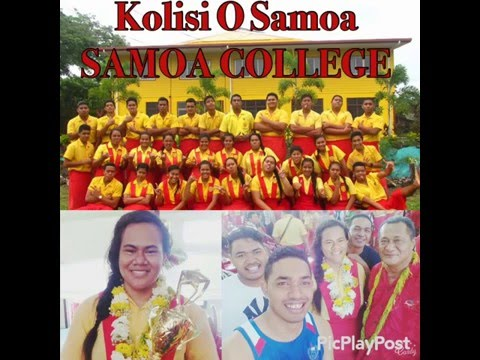 PUNIALAVA'A - Vi'i O Le Kolisi O Samoa - SAMOA COLLEGE song tribute (Original Recording)