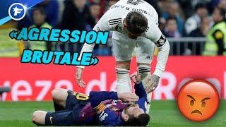 La presse catalane crie au scandale pour l'altercation entre Ramos et Messi | Revue de presse